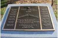 Vietnam Veterans Plaque in Wilder Park